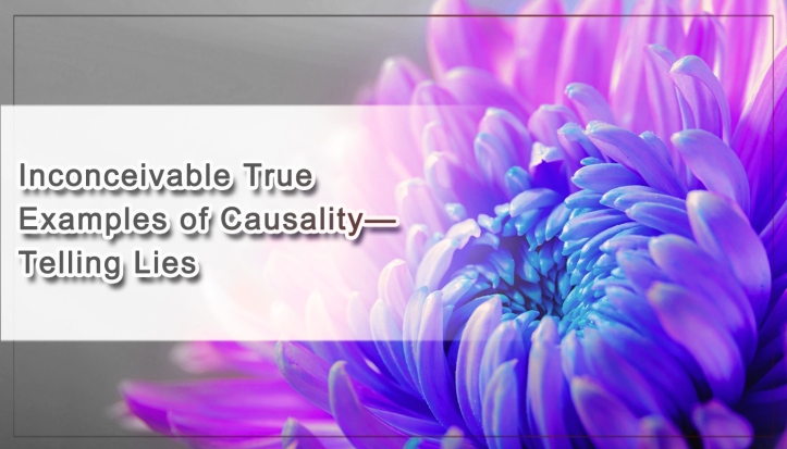 Inconceivable True Examples of Causality— Telling Lies